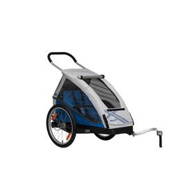 XLC Mono Przyczepka rowerowa szary/niebieski
